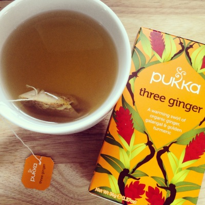 Ginger tea pic